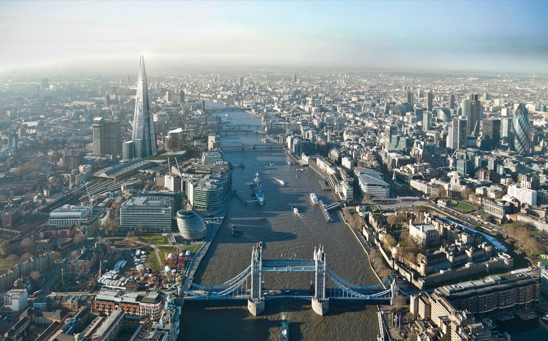 Лондон 1920 x 1196