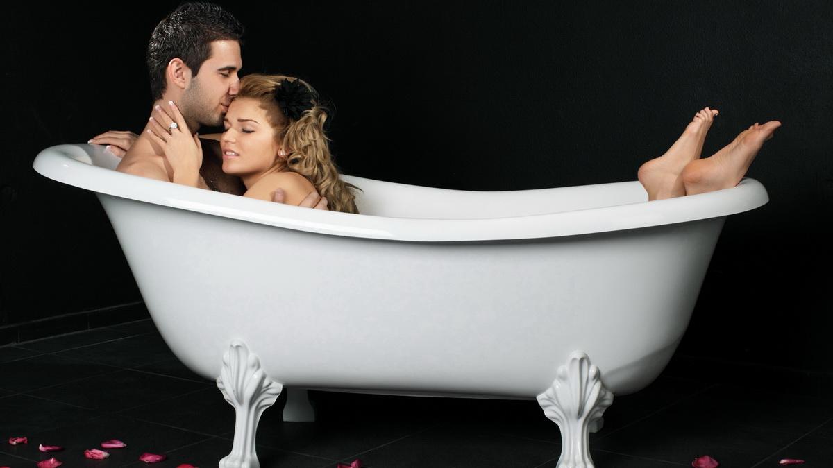 Поцелуй в ванне 18 фотография