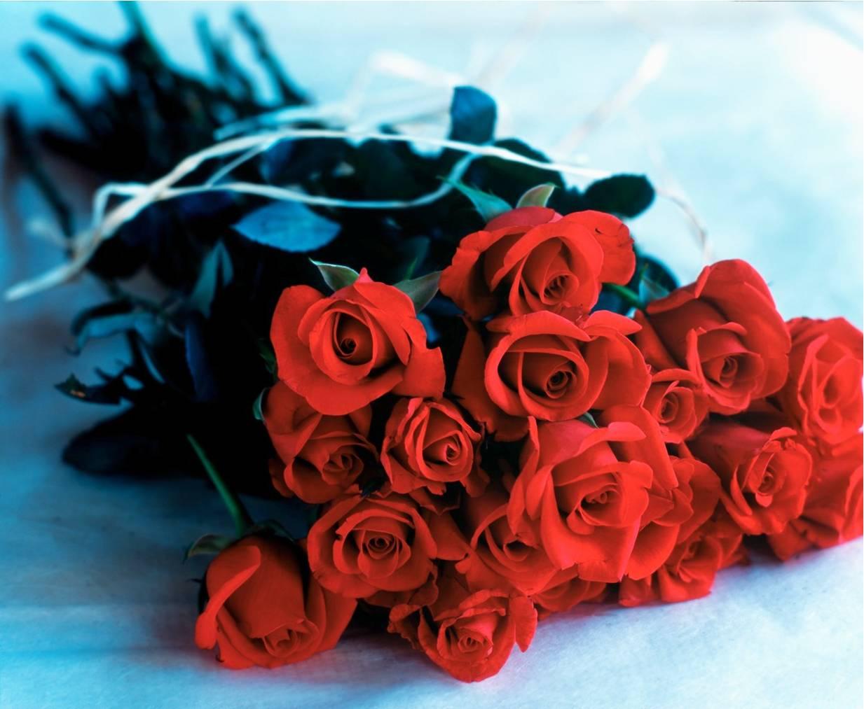 Хитрый ход: судебные приставы приманили должника, заказав у него букет роз