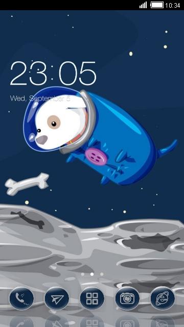 Собачка-космонавт