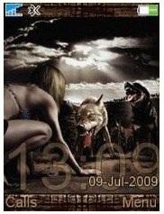 Девушка и Волки