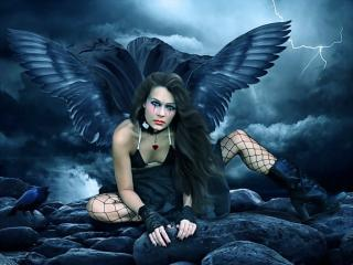 Тёмный ангел 1024 x 768