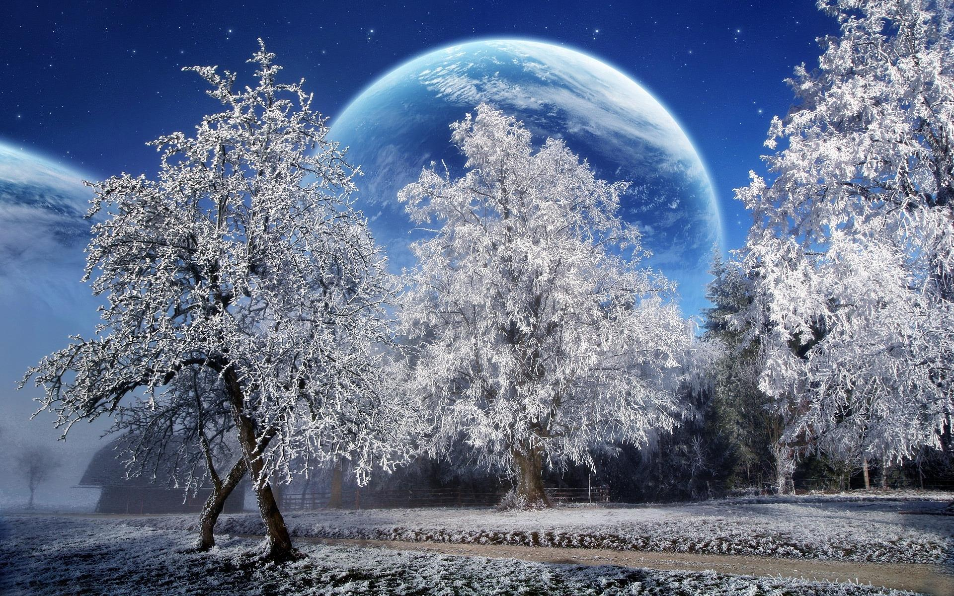 Картинки на робочий стіл зима