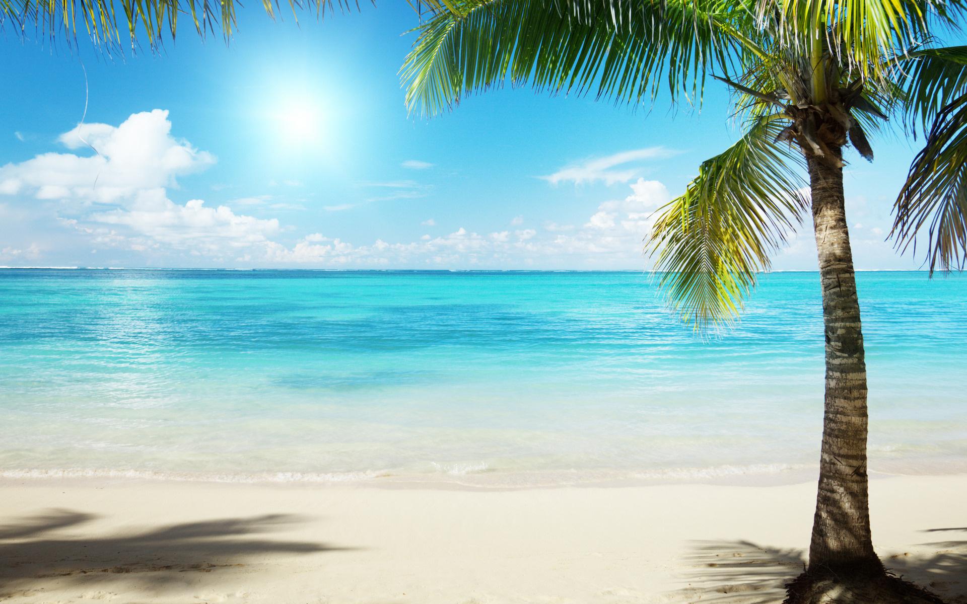 Обои пляж