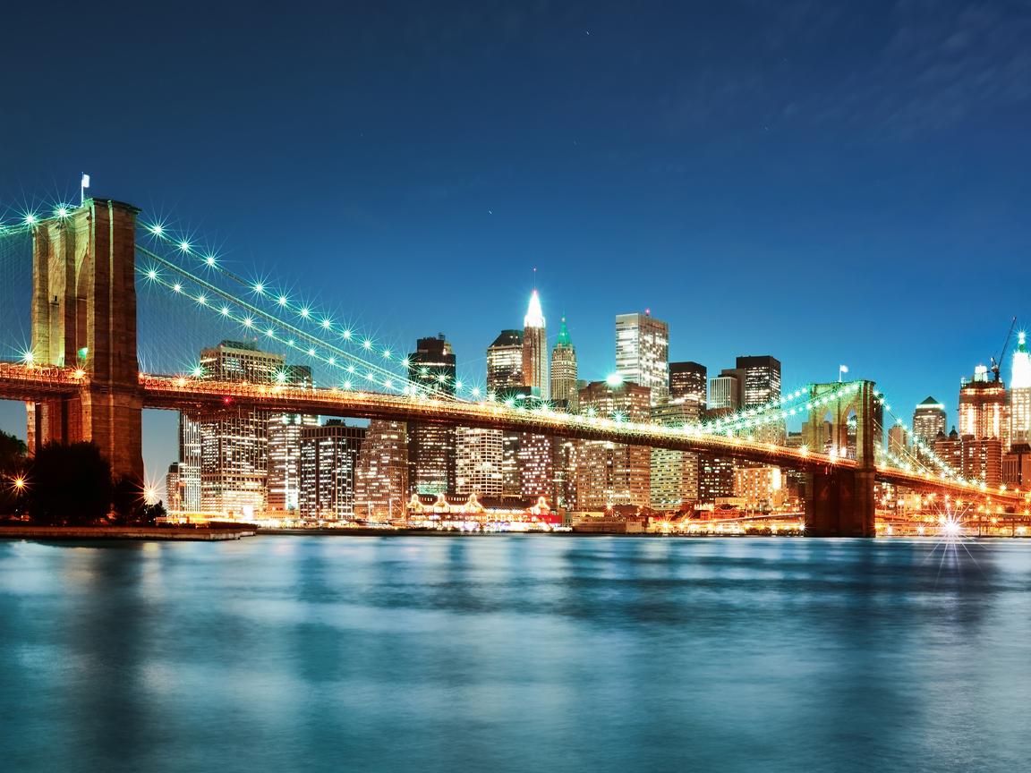 Бруклинский мост 1152 x 864