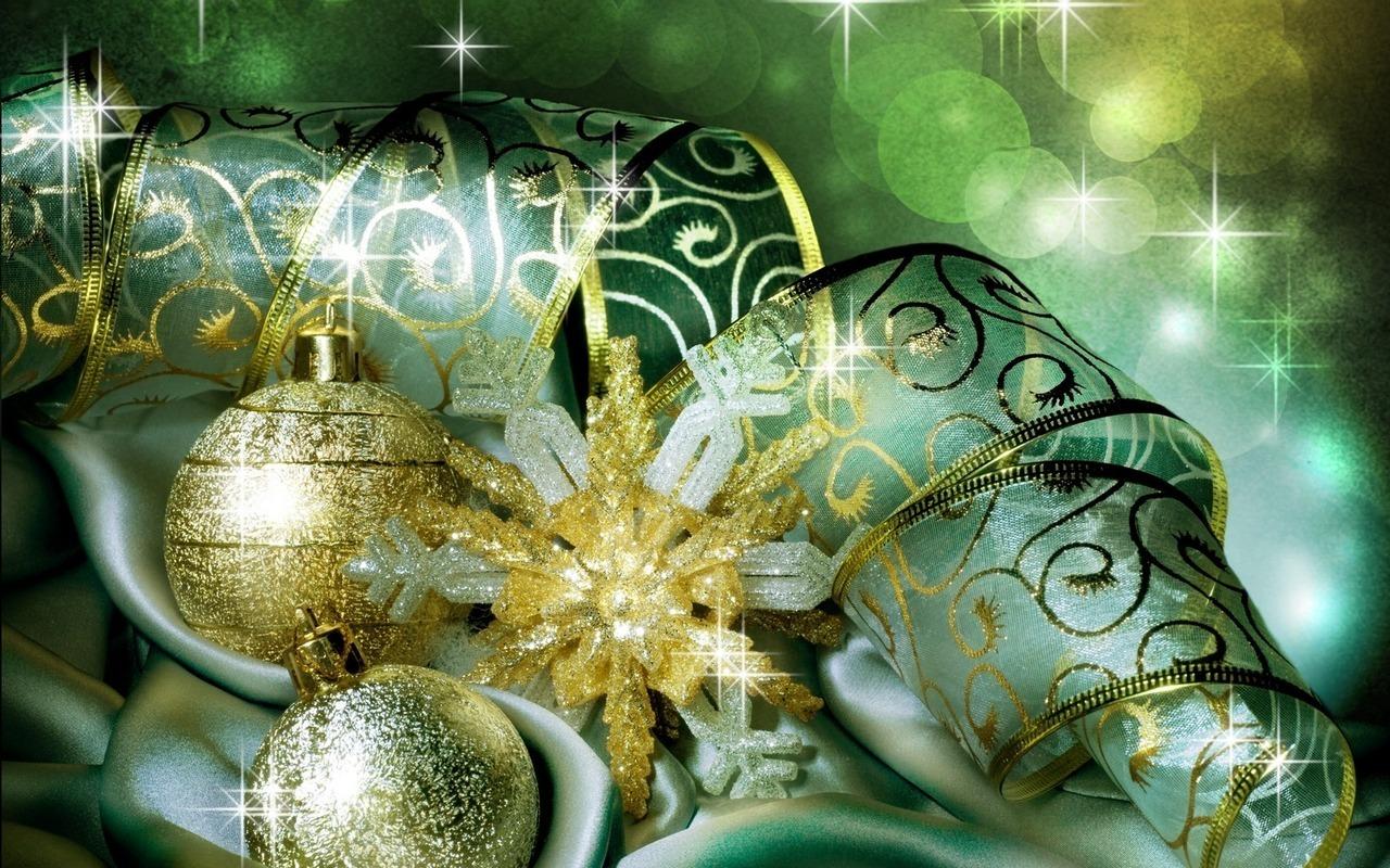 Новый год 2011 1280 x 800