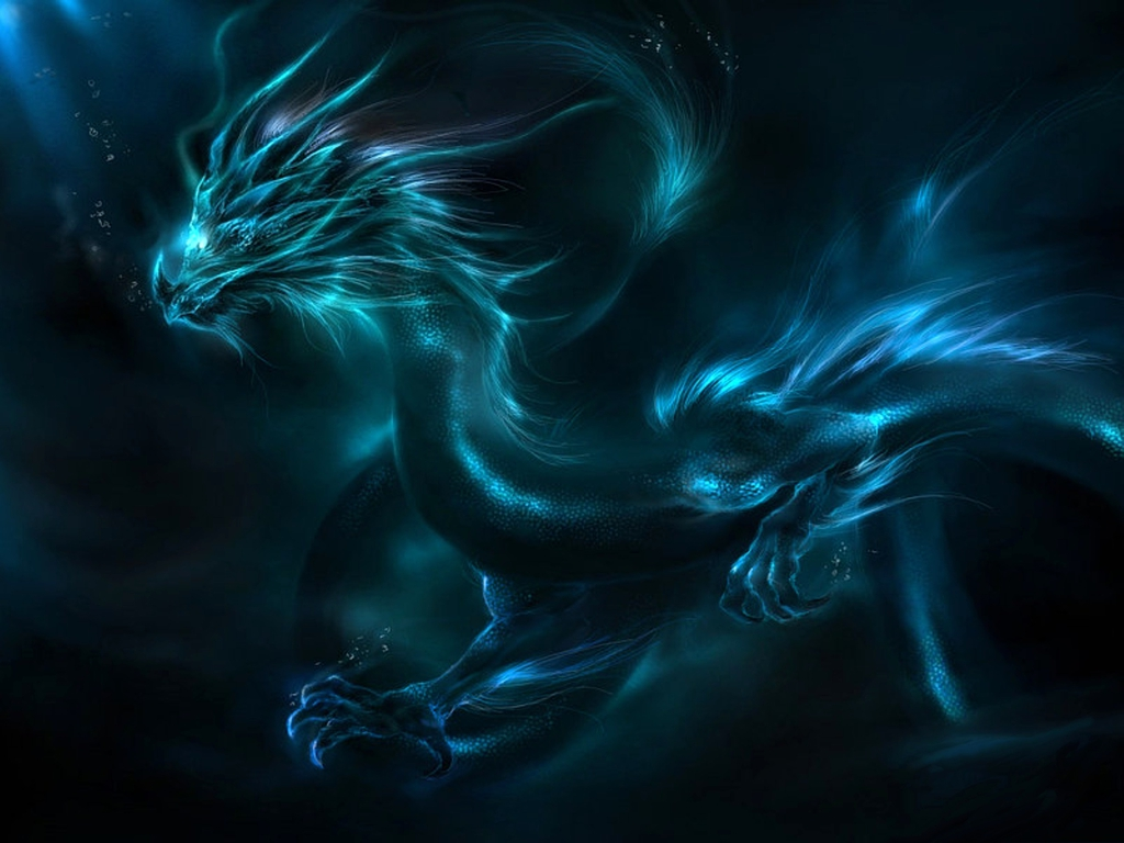 Офигенный дракон 1024 x 768
