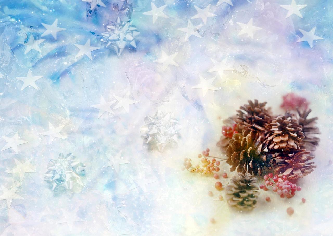 Красивые фоны для новогодней открытки