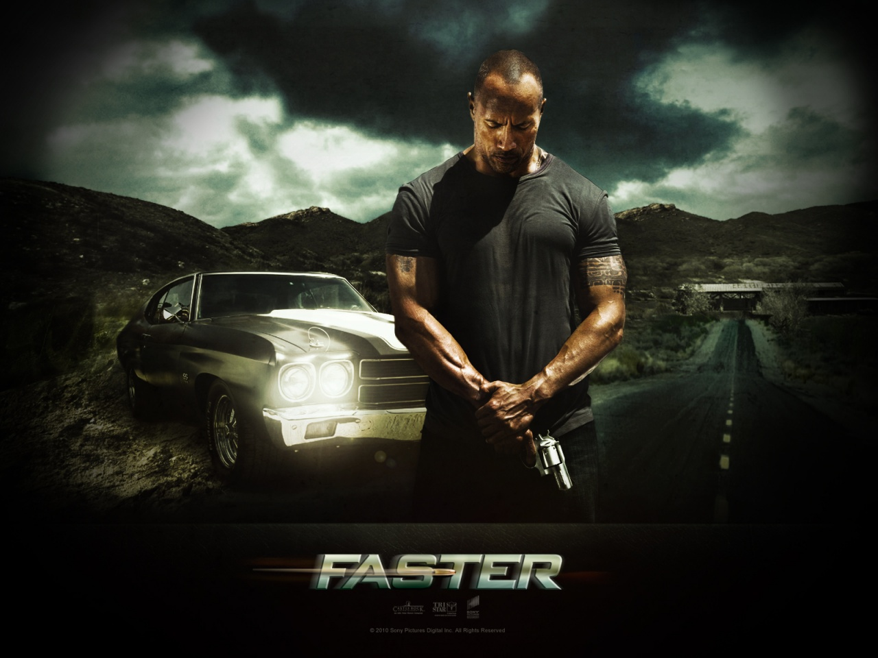 ������� ���� / Faster (2010) HDRip | ��������