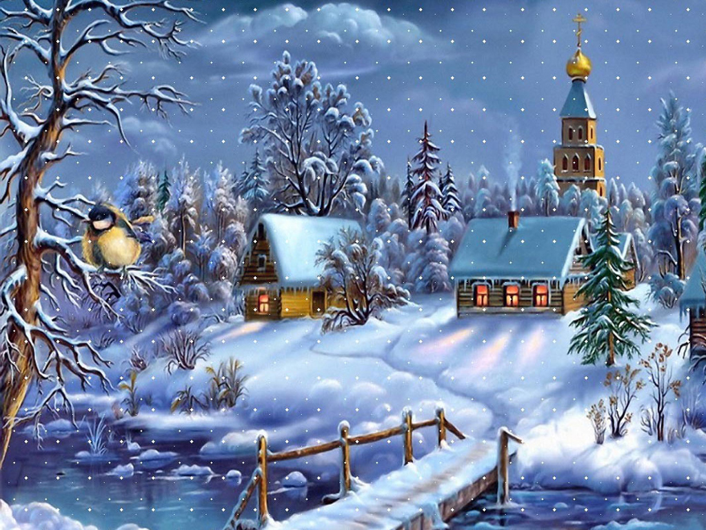 Картинки на рабочие стол про зиму