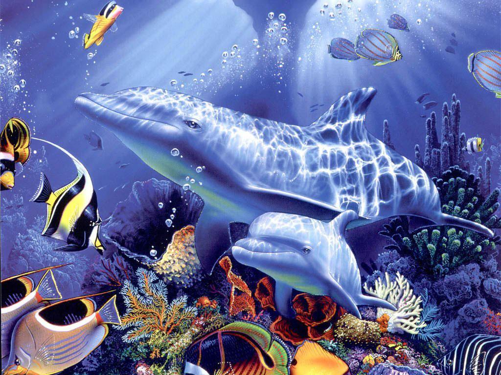 бесплатные обои на рабочий стол живой аквариум