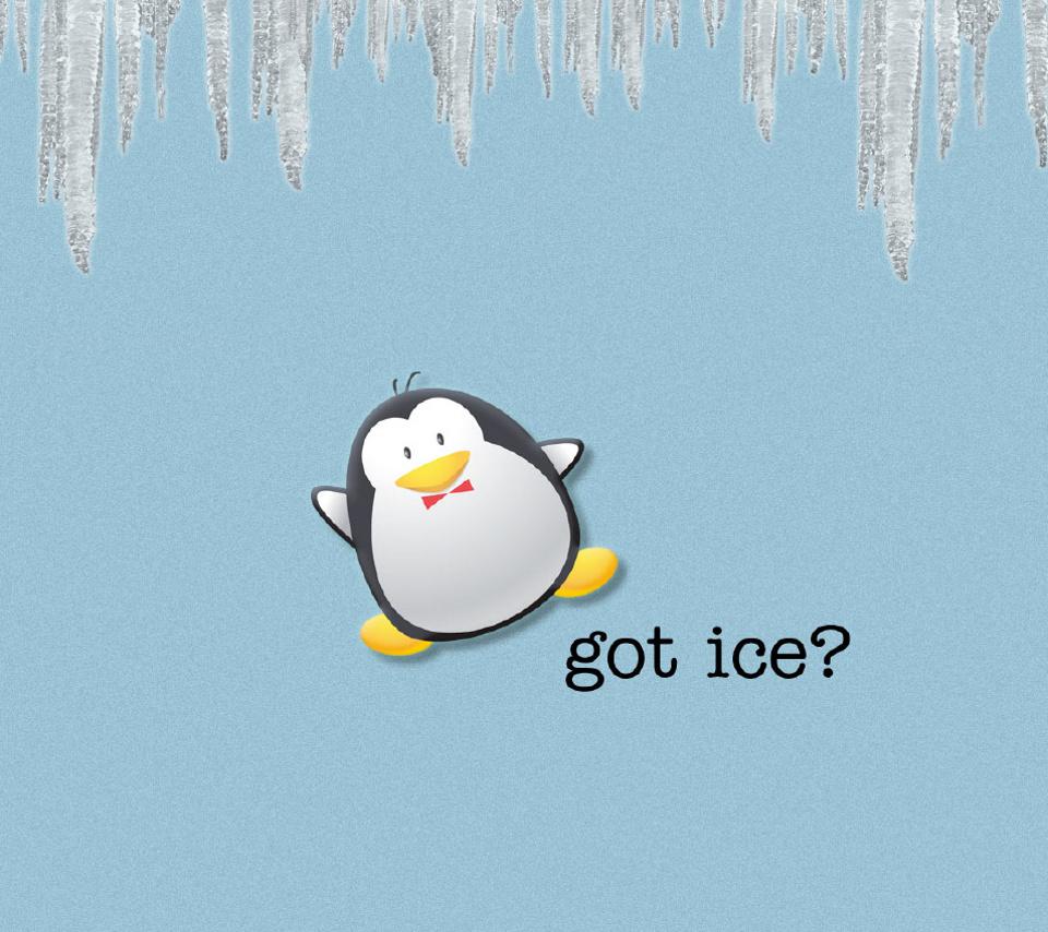 пингвин рисунок: