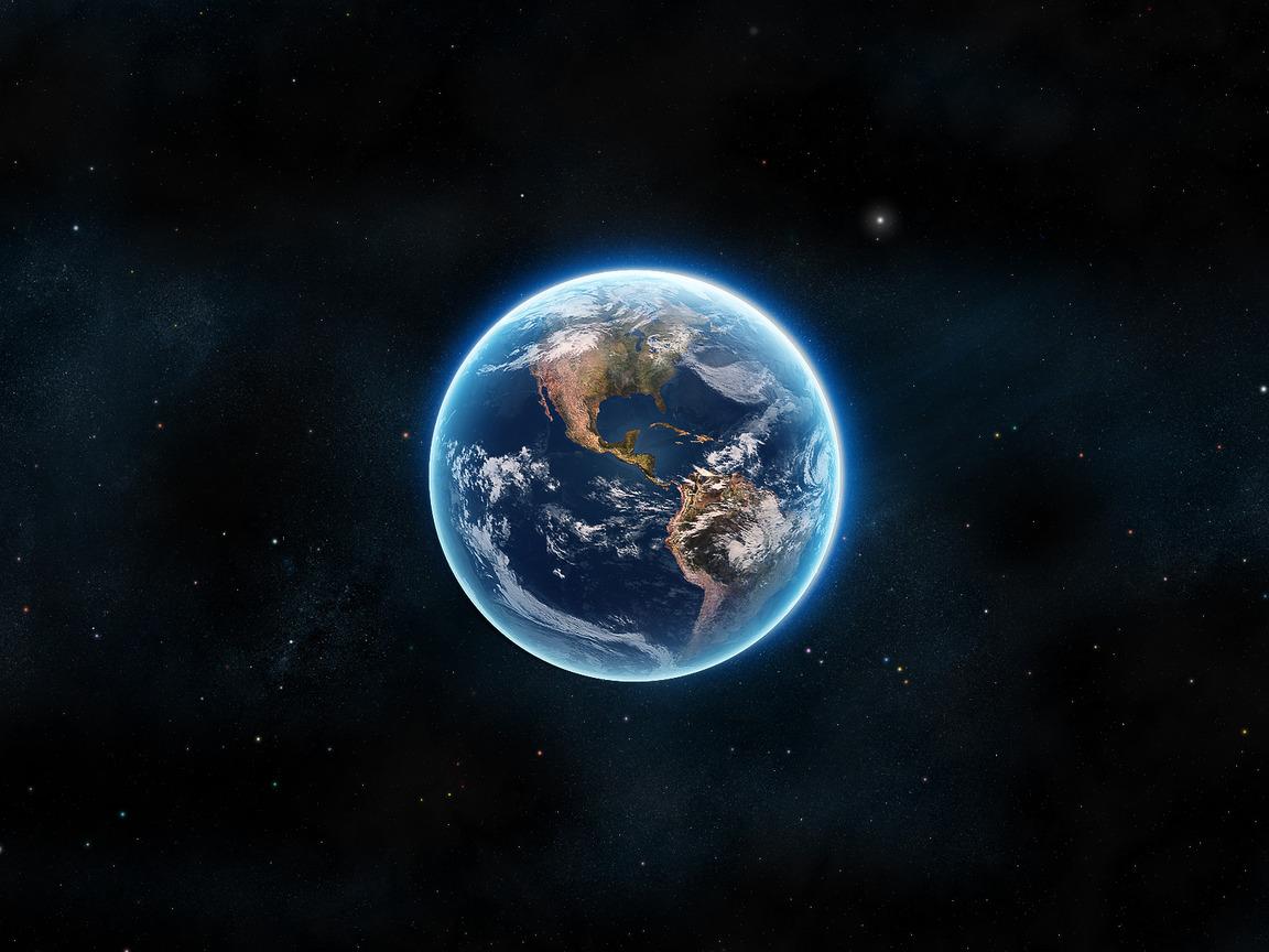 Земля 1152 x 864