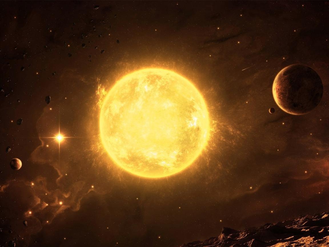 Солнце 1152 x 864